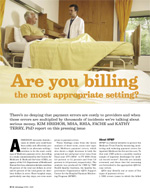 Are You Billing the Most Appropriate Setting?
