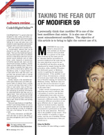 Taking the fear out of modifier 59