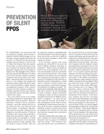 Prevention of Silent PPOs