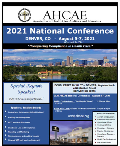 The AHCAE National Conference